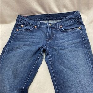 7 for all mankind Bootcut medium wash jeans 26